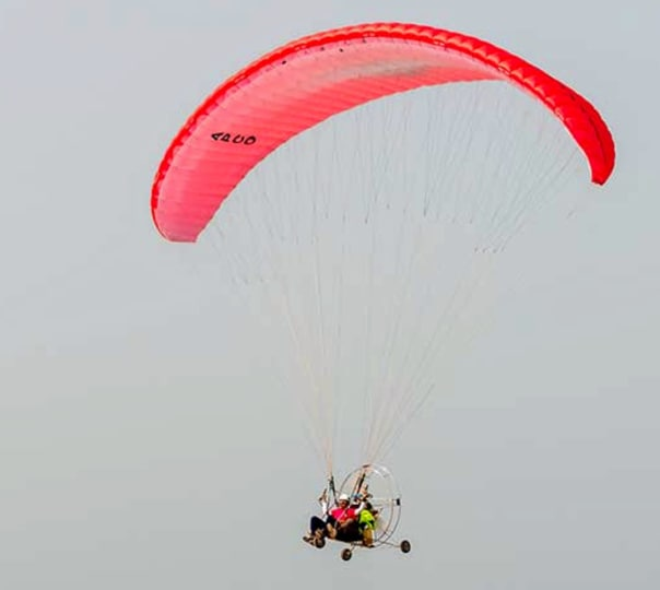 Motorised Paragliding in North Goa