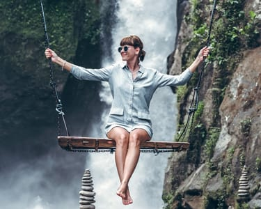 Bali Swing and Waterfall Full Day Tour in Ubud