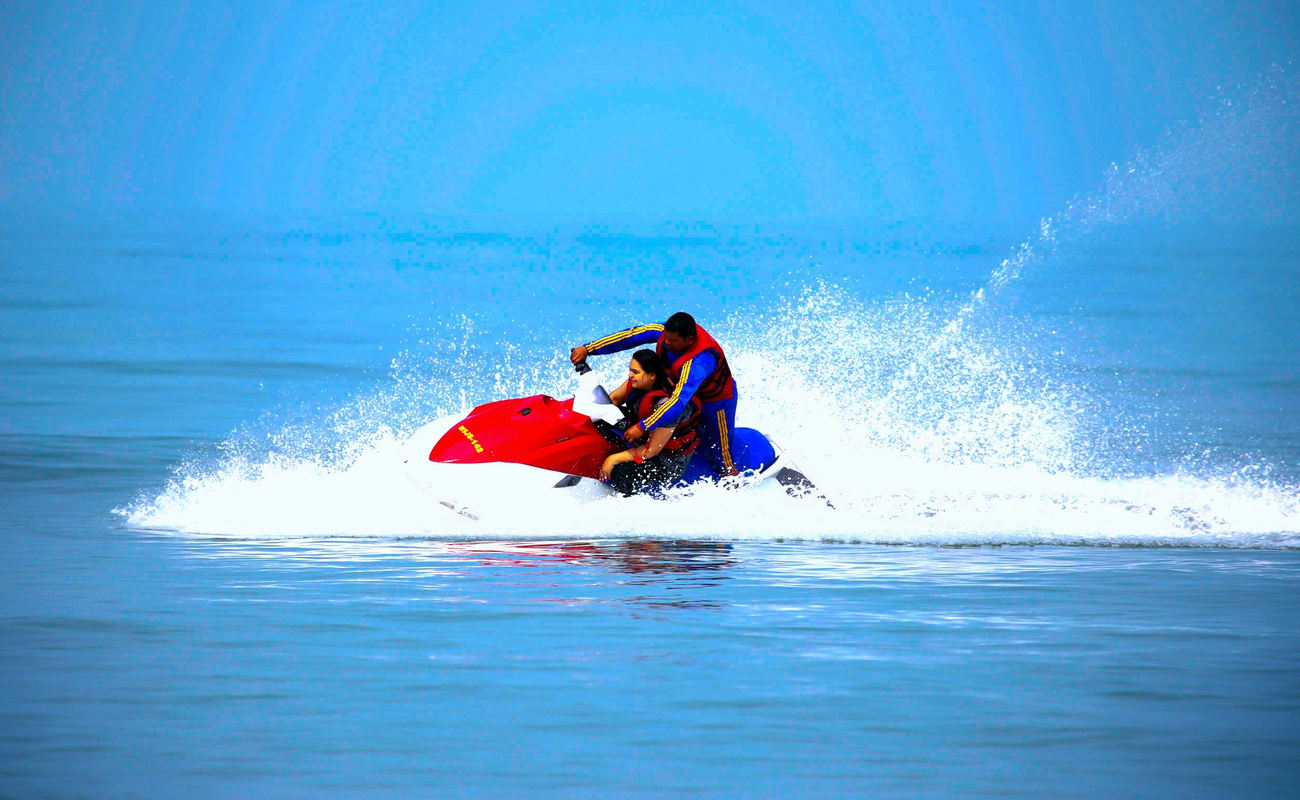 Jet Ski Adventure At Mobor Beach In South Goa | Thrillophilia