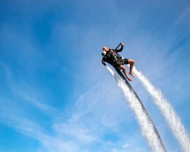 Water Jet Pack Experience in Dubai Flat 15% off