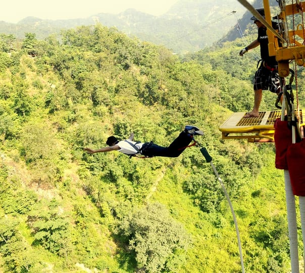 Combo Package For Adventure Activities in Rishikesh (bungee/zip Line/giantswing)
