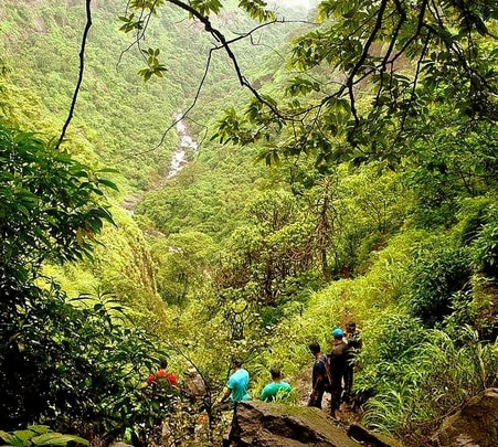 Trek to Arthur's seat in Mahabaleshwar
