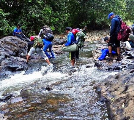 Trek to the Tumbi Surla Waterfall
