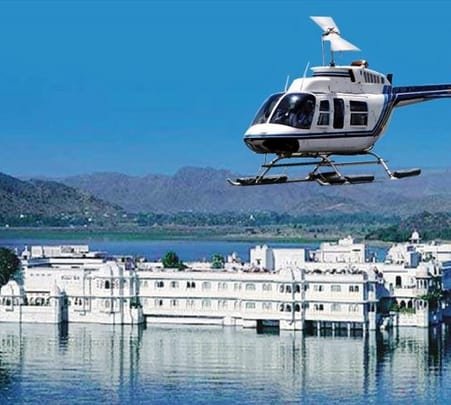 Helicopter Joyride in Udaipur