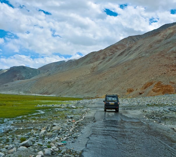 Leh Ladakh Jeep Safari Package from Manali