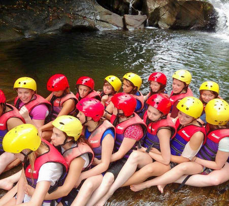 White Water Rafting at Kithulgala in Sri Lanka