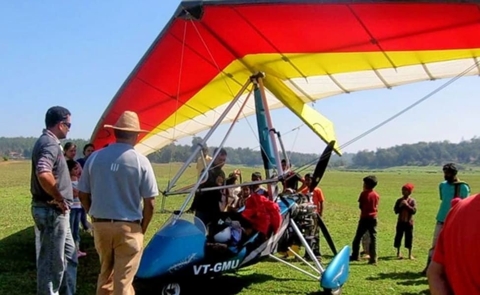 Microlight Flying In Coorg