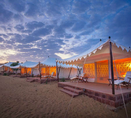 Stay at Samsara Desert Camps in Jodhpur, Rajasthan