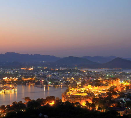Udaipur City Night Walk Tour Flat 36% off