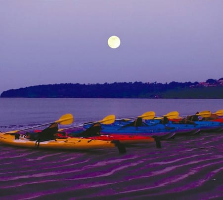 Moonlight Kayaking at Bambolim Beach - Flat 16% Off