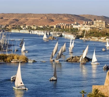 Cruise along the Nile in Egypt