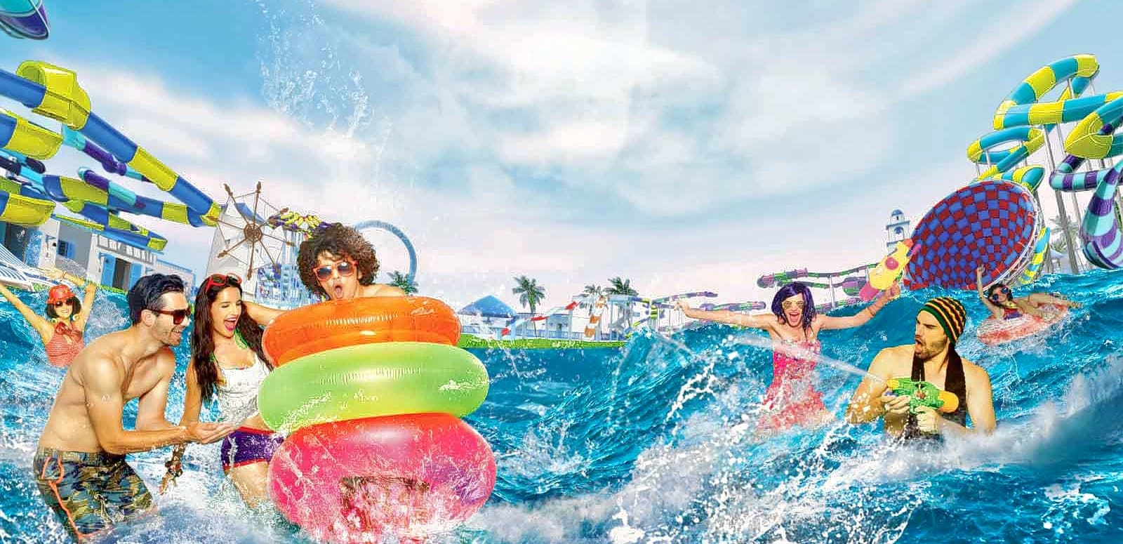 Picnic world water park video