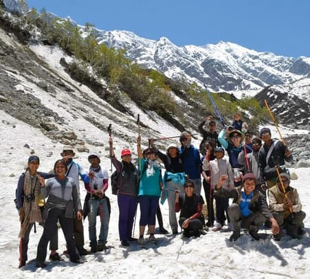 Women's Trek to Beas Kund