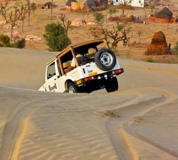 Day Drive Desert Experience in Jodhpur
