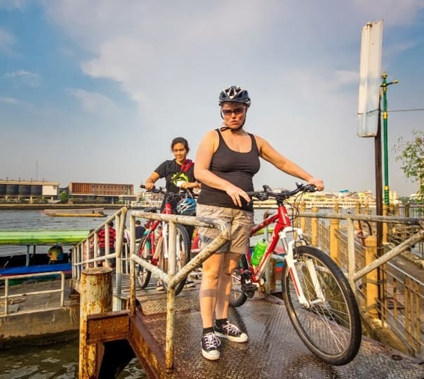 Biking and Dining Tour in Bangkok
