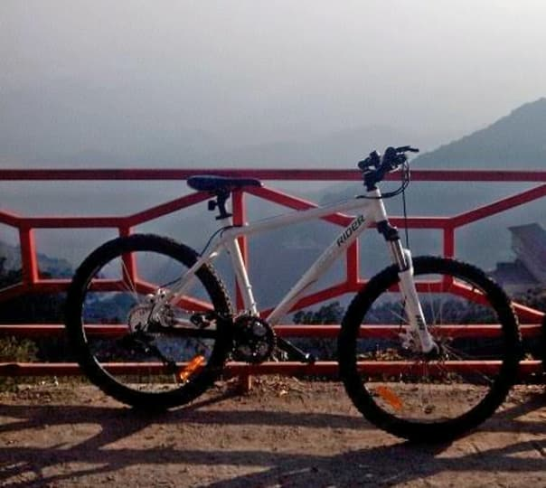 Rent a Cycle at Mussoorie