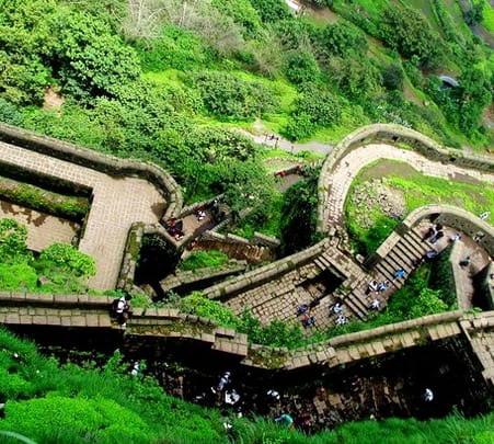 Trek to Lohagad Fort in Lonavala, Mumbai
