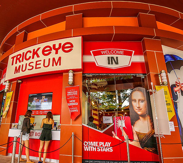 Ticket to Trick Eye Museum in Singapore