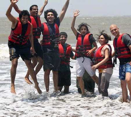 Corporate Day Out at Mandwa Beach near Mumbai