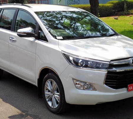 Rent a Toyota Innova Crysta in Delhi