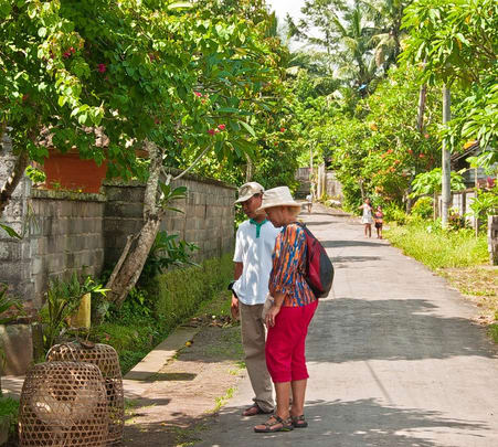 Ubud Nature Walk in Bali