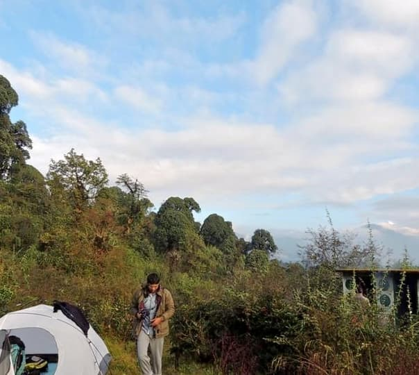 Trekking in the Hills of Darjeeling