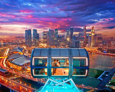 Singapore Flyer Tickets with Garden by the Bay - Flat 15% off