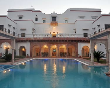Stay at Chandra Mahal Haveli in Bharatpur Rajasthan - 11% Off