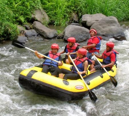 Cycling and River Rafting in Bali