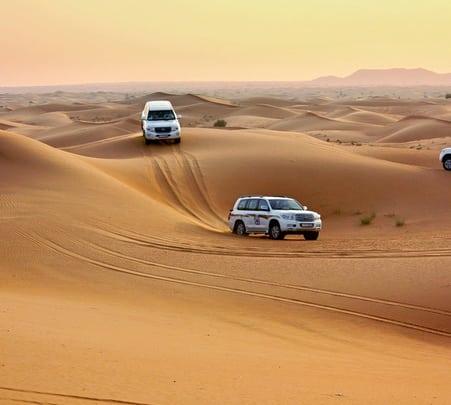 Desert Safari with Barbecue Dinner in Dubai