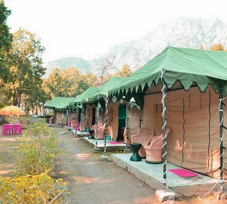 River View Camping in Rishikesh With Rafting Flat 31% Off