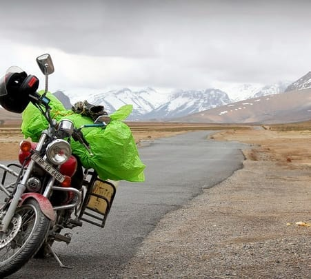 Spiti Valley Bike Tour from Delhi