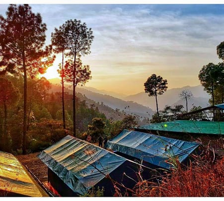 Camping in Shimla with Trekking Flat 36% off