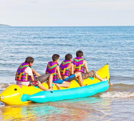 Banana Boat Ride at Dona Paula Beach, Goa - Flat 28% Off