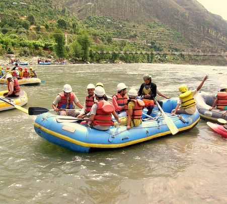 Rafting Expedition in Beas River, Himachal Pradesh