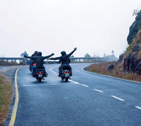 Motorcycle Expedition in the Mystical Northeast