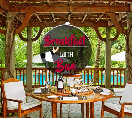 Romantic Breakfast Under a Raintree at Taj Westend