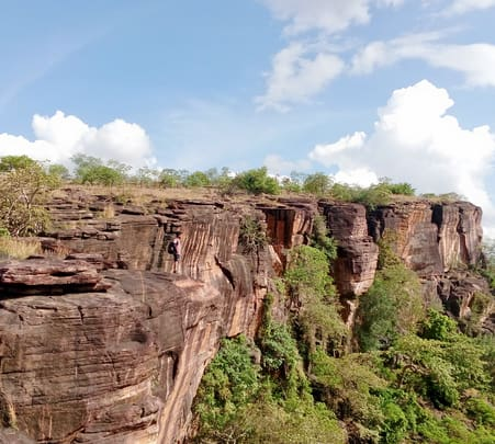 Trek to Amargarh Waterfalls, Bhopal