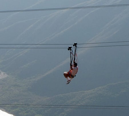 Cable Rides / Ziplining at Pattaya in Thailand