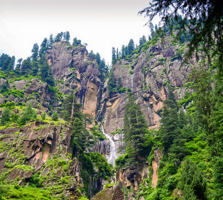 Hike to Jogini Waterfall with Camping