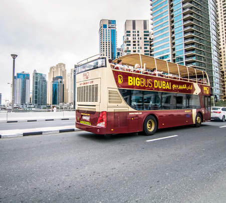 Dubai Hop-on Hop-off Bus Tour Flat 20% off