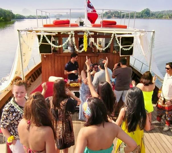 Yacht Party Cruise in Goa