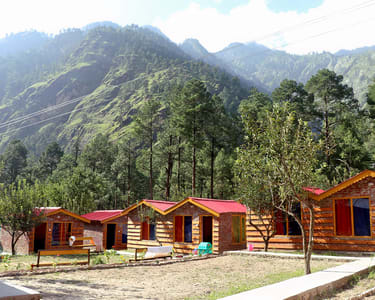 Wood Cottage & Tent Stay in Kasol