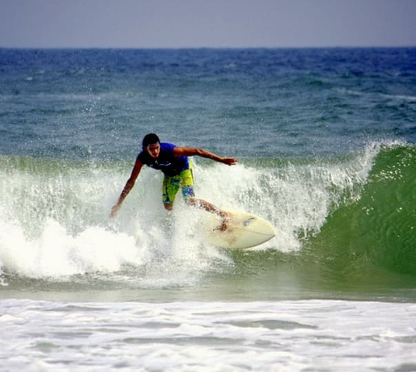 Surfs Up at Kodi Bengare in Karnataka