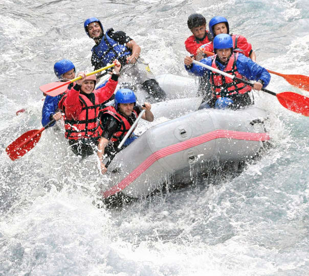 White Water Rafting on the Ganges
