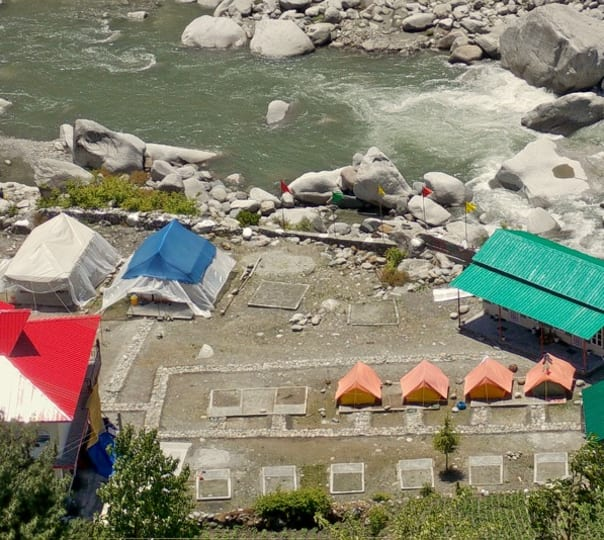 Camping and Fishing Session in Barot, Himachal Pradesh