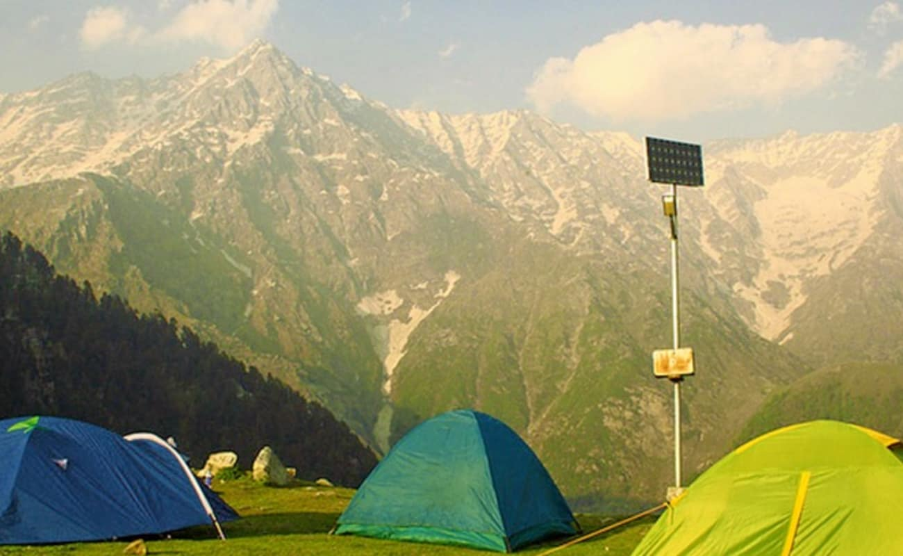 Camping At Triund In Dharamkot | Thrillophilia