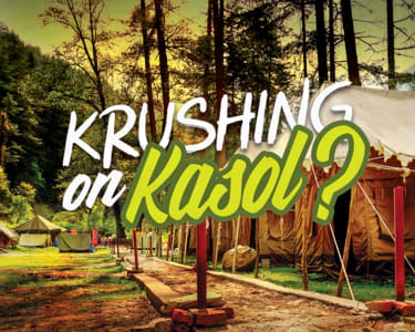 Adventure Camp in Kasol