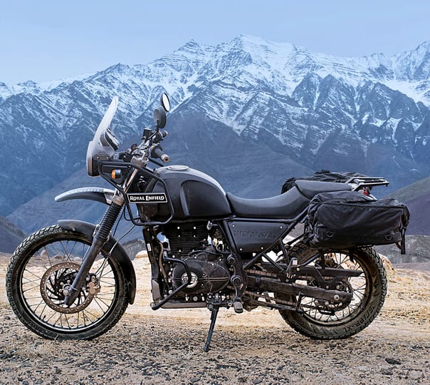 Rent a Royal Enfield Himalayan in Mumbai