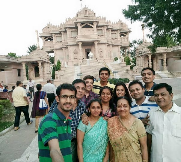 Trip to Akshardham Temple in a Private Car